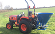 Crwagri with Fertiliser application at Aubourn