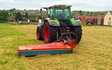Ams contracting ltd with Verge/flail Mower at Birdham