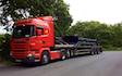 Agro handel og transport aps med Blokvogn ved Tinglev