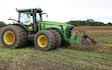 Lystrup og jomfruens egede godser med Traktor over 300 hk ved Faxe