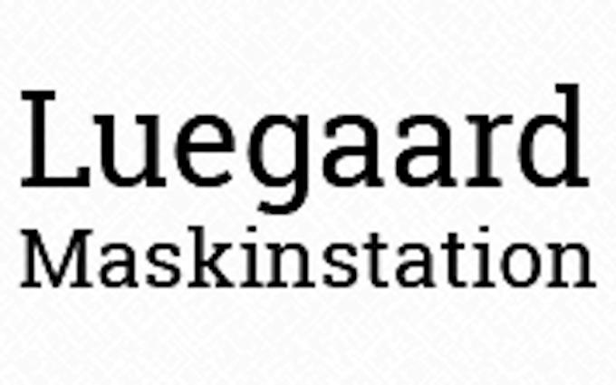 Luegaard maskinstation med Såmaskine ved Frederikssund