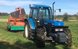 J pollock agri & haulage contractor with Mower at Derrykeighan
