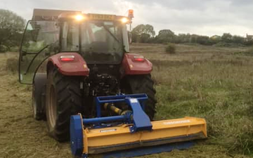 Mb land services  with Mower at Frampton Cotterell