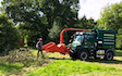 Field and forest services with Wood chipper at King's Sutton