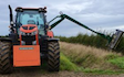 Fenfarm partnership with Hedge cutter at Dorrington