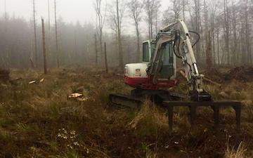 Skov kompagniet med Oprilning/Plantning ved Rønnede