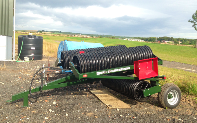 Smith agri with Rolls/presses at Edmondsley
