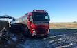 Vognmand poul pedersen med Trailer ved Skanderborg