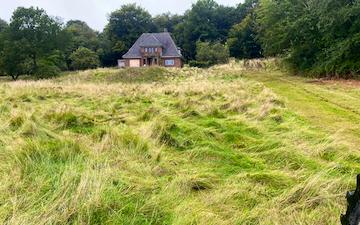 Mariagergård med Brakpudser ved Sønder Hostrup