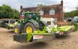 Berkshire agripower ltd with Mower at Chieveley