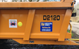 R m agricultural services with Manure/waste spreader at Horton Road