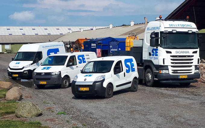 Sellesborg entreprenørfirma aps med Slamsugning ved Aakirkeby