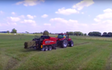 Grain & food limited with Large square baler at Gordonton