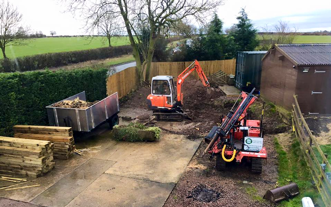 Steve mound fencing with Fencing at United Kingdom