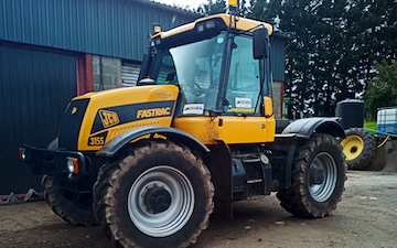 Jenx plant ltd with Tractor 100-200 hp at Abergavenny