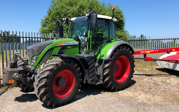 D.j. o'neill agri contracts with Tractor 100-200 hp at Gwernaffield