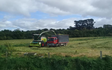 Rtb agri ltd with Forage harvester at Whakarongo