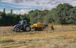 Greencrop forage & contracting with Large square baler at Russet Way