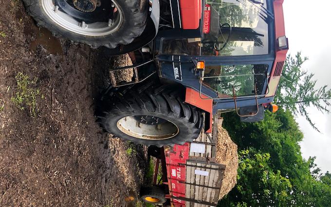 Æ skovtrold med Traktor 101-200 hk ved Ulfborg