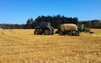 Cathcart contracting ltd  with Baler wrapper combination at Waikokowai