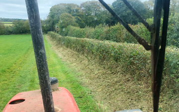 Jb plant with Hedge cutter at United Kingdom