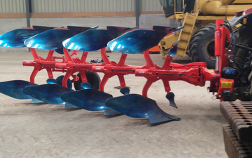 Smith agri with Plough at Edmondsley