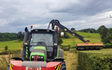 A j roberts farm & garden services with Hedge cutter at Target Close