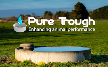 Pure trough with Cleaning/Disinfection at Gore
