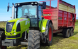 C.scott agri services  with Silage/grain trailer at Silloth