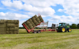 Cornbury farm contracting ltd with Bale chaser at West Lavington