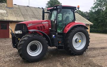 Tylsbjerggaard markservice v. ib arpe med Traktor 201-300 hk ved Ringsted