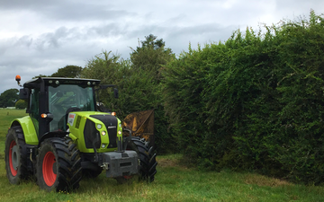 Waikato hedgecutters limited  with Hedge cutter/mulcher at New Zealand