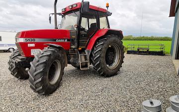 Sdr. tørring maskinstation med Traktor 101-200 hk ved Lemvig