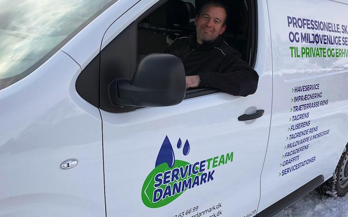 Serviceteam danmark med Staldvask ved Nykøbing Falster