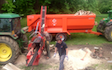 Oliver berti forestry and firewood  with Log splitter at Park Gate