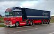 Spøttrup kran- & containerservice  med Lastbil ved Spøttrup
