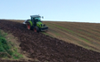 Chris buse contracting with Plough at Middlecott