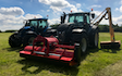 Pg groundcare ltd with Verge/flail Mower at Hollybank