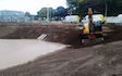 Owen gillard groundworks with Excavator at Kelso
