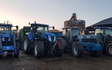 I cooper & partners with Round baler at United Kingdom
