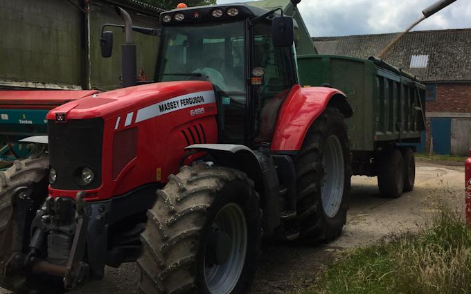 Tractor hire - G J WALKER