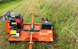 Chapman outdoor solutions ltd with Verge/flail Mower at Pitmedden