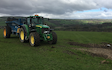 F. fryer & sons  with Manure/waste spreader at Ilkley