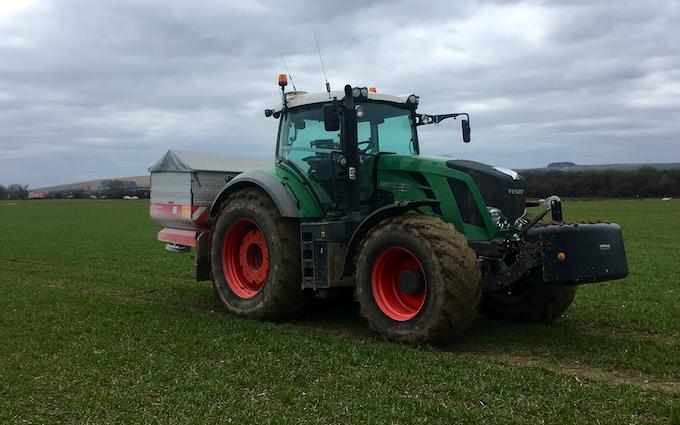 Ben peploe with Tractor 201-300 hp at Liddington