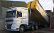 J turner contracting with Tipping trailer at Coningsby