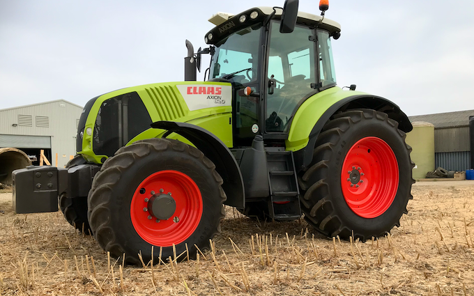 T d sagon contracting  with Tractor 201-300 hp at Alpheton