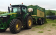 David sykes ltd with Forage harvester at Greenfield