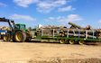 Bennett's contracting with Low loader at Doddinghurst Road
