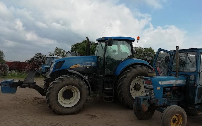 Kp maskinstation  med Traktor 201-300 hk ved Jyderup