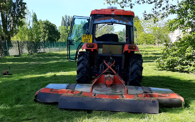 Acc contracting with Mower at Bramley